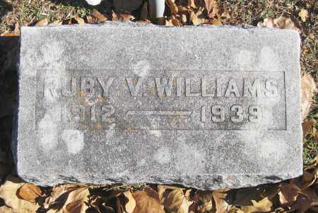 WILLIAMS, RUBY V. - Benton County, Arkansas | RUBY V. WILLIAMS - Arkansas Gravestone Photos