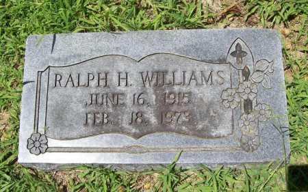WILLIAMS, RALPH H. - Benton County, Arkansas | RALPH H. WILLIAMS - Arkansas Gravestone Photos