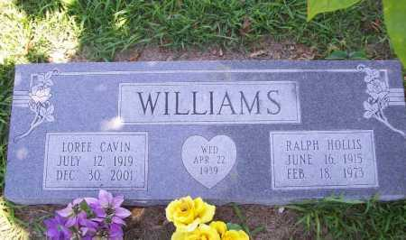 CAVIN WILLIAMS, LOREE - Benton County, Arkansas | LOREE CAVIN WILLIAMS - Arkansas Gravestone Photos