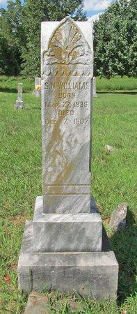 WILLIAMS (VETERAN CSA), SAMUEL NEWTON - Benton County, Arkansas   SAMUEL NEWTON WILLIAMS (VETERAN CSA) - Arkansas Gravestone Photos
