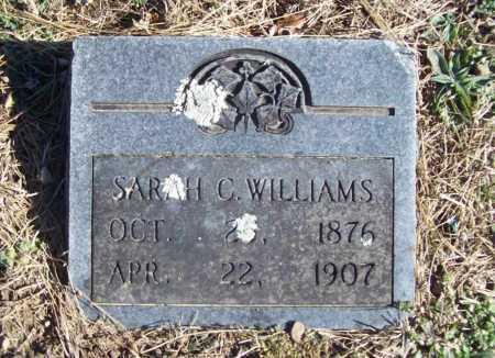 WILLIAMS, SARAH C. - Benton County, Arkansas   SARAH C. WILLIAMS - Arkansas Gravestone Photos