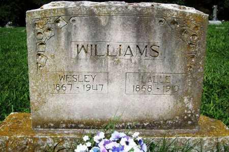 WILLIAMS, LALLE - Benton County, Arkansas | LALLE WILLIAMS - Arkansas Gravestone Photos
