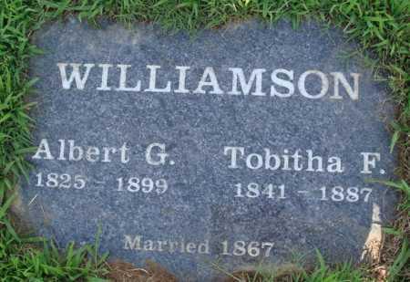 WILLIAMSON, ALBERT G. - Benton County, Arkansas | ALBERT G. WILLIAMSON - Arkansas Gravestone Photos
