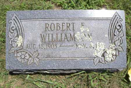 WILLIAMSON, ROBERT E. - Benton County, Arkansas | ROBERT E. WILLIAMSON - Arkansas Gravestone Photos