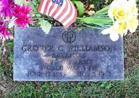 WILLIAMSON (VETERAN WWI), GROVER C - Benton County, Arkansas   GROVER C WILLIAMSON (VETERAN WWI) - Arkansas Gravestone Photos