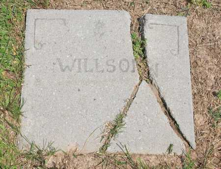 WILLSON, (MARKER) - Benton County, Arkansas | (MARKER) WILLSON - Arkansas Gravestone Photos