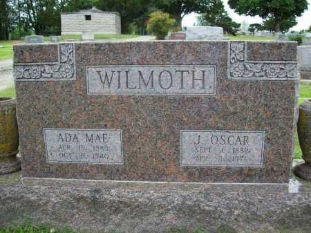 WILMOTH, J. OSCAR - Benton County, Arkansas | J. OSCAR WILMOTH - Arkansas Gravestone Photos