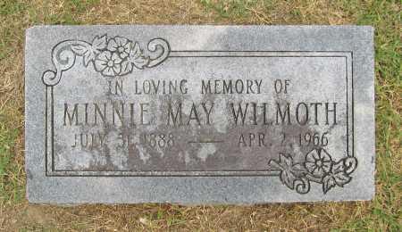 WILMOTH, MINNIE MAY - Benton County, Arkansas | MINNIE MAY WILMOTH - Arkansas Gravestone Photos