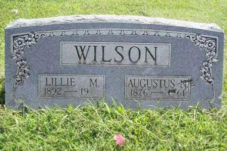WILSON, AUGUSTUS N. - Benton County, Arkansas   AUGUSTUS N. WILSON - Arkansas Gravestone Photos