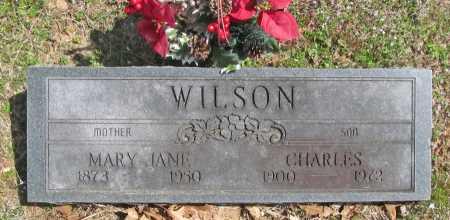 WILSON, CHARLES - Benton County, Arkansas | CHARLES WILSON - Arkansas Gravestone Photos