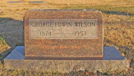 WILSON, GEORGE EDWIN - Benton County, Arkansas | GEORGE EDWIN WILSON - Arkansas Gravestone Photos