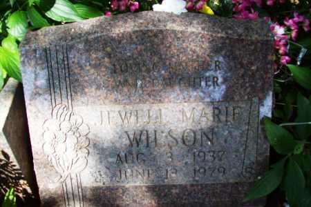 WILSON, JEWELL MARIE - Benton County, Arkansas   JEWELL MARIE WILSON - Arkansas Gravestone Photos