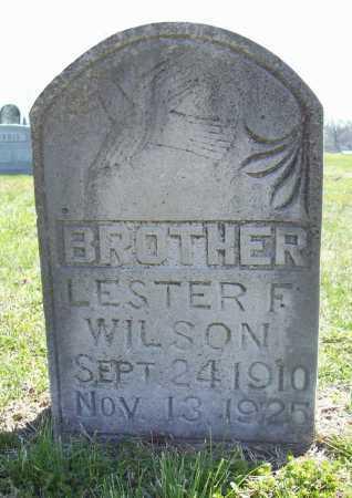 WILSON, LESTER F. - Benton County, Arkansas | LESTER F. WILSON - Arkansas Gravestone Photos