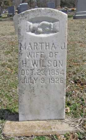 WILSON, MARTHA J. - Benton County, Arkansas   MARTHA J. WILSON - Arkansas Gravestone Photos