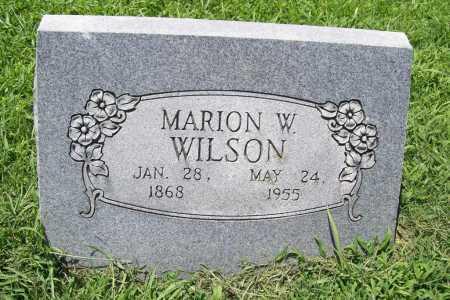 WILSON, MARION W. - Benton County, Arkansas   MARION W. WILSON - Arkansas Gravestone Photos