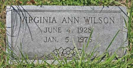 WILSON, VIRGINIA ANN - Benton County, Arkansas | VIRGINIA ANN WILSON - Arkansas Gravestone Photos