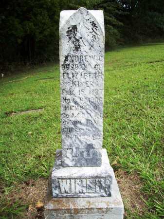 WIMER (VETERAN UNION), ANDREW C. - Benton County, Arkansas | ANDREW C. WIMER (VETERAN UNION) - Arkansas Gravestone Photos