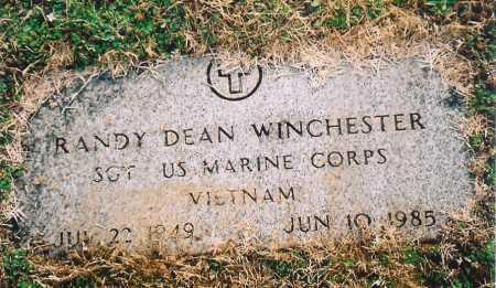 WINCHESTER (VETERAN VIET), RANDY DEAN - Benton County, Arkansas | RANDY DEAN WINCHESTER (VETERAN VIET) - Arkansas Gravestone Photos
