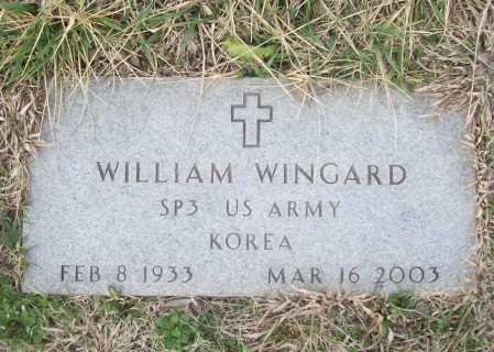 WINGARD (VETERAN KOR), WILLIAM - Benton County, Arkansas | WILLIAM WINGARD (VETERAN KOR) - Arkansas Gravestone Photos