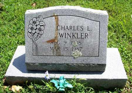 WINKLER, CHARLES L. - Benton County, Arkansas   CHARLES L. WINKLER - Arkansas Gravestone Photos