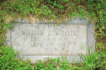 WISELEY, WILLIAM L. - Benton County, Arkansas   WILLIAM L. WISELEY - Arkansas Gravestone Photos