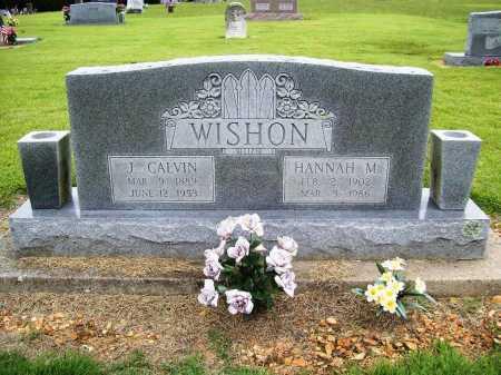 WISHON, JOHN CALVIN - Benton County, Arkansas | JOHN CALVIN WISHON - Arkansas Gravestone Photos