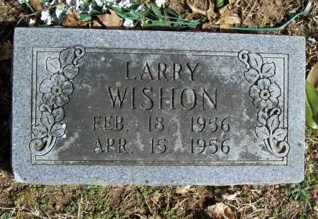 WISHON, LARRY - Benton County, Arkansas | LARRY WISHON - Arkansas Gravestone Photos