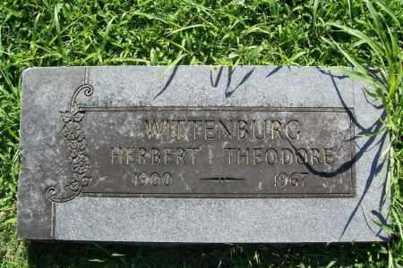WITTENBURG, HERBERT THEODORE - Benton County, Arkansas   HERBERT THEODORE WITTENBURG - Arkansas Gravestone Photos