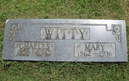 WITTY, MARY - Benton County, Arkansas | MARY WITTY - Arkansas Gravestone Photos