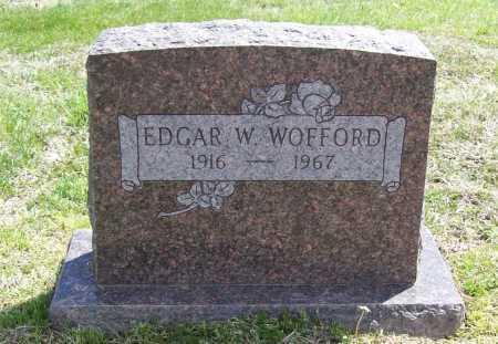 WOFFORD, EDGAR W. - Benton County, Arkansas | EDGAR W. WOFFORD - Arkansas Gravestone Photos