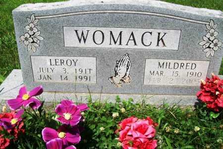 MASON WOMACK, MILDRED M. - Benton County, Arkansas | MILDRED M. MASON WOMACK - Arkansas Gravestone Photos