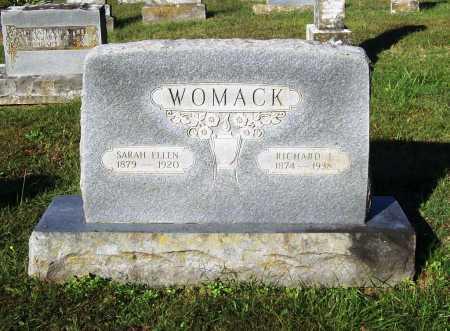 WOMACK, RICHARD ISAAC - Benton County, Arkansas   RICHARD ISAAC WOMACK - Arkansas Gravestone Photos