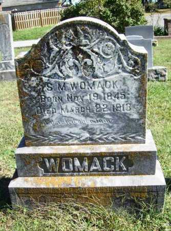 WOMACK, S. M. - Benton County, Arkansas | S. M. WOMACK - Arkansas Gravestone Photos