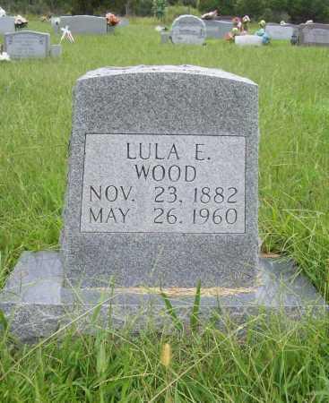 WOOD, LULA E. - Benton County, Arkansas | LULA E. WOOD - Arkansas Gravestone Photos