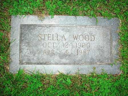 WOOD, STELLA - Benton County, Arkansas | STELLA WOOD - Arkansas Gravestone Photos