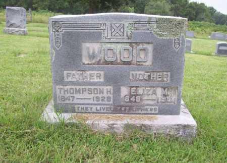 WOOD (VETERAN CSA), THOMPSON HENRY - Benton County, Arkansas   THOMPSON HENRY WOOD (VETERAN CSA) - Arkansas Gravestone Photos