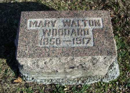 WOODARD, MARY - Benton County, Arkansas | MARY WOODARD - Arkansas Gravestone Photos
