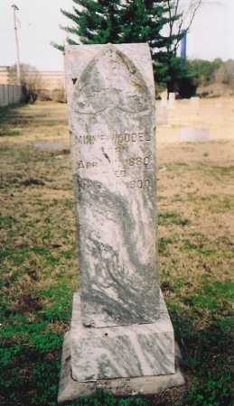 WOODEL, MINNIE - Benton County, Arkansas | MINNIE WOODEL - Arkansas Gravestone Photos