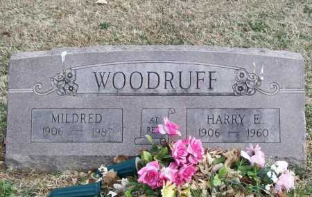 WOODRUFF, HARRY EDGAR - Benton County, Arkansas | HARRY EDGAR WOODRUFF - Arkansas Gravestone Photos