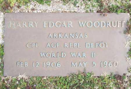 WOODRUFF (VETERAN WWII), HARRY EDGAR - Benton County, Arkansas | HARRY EDGAR WOODRUFF (VETERAN WWII) - Arkansas Gravestone Photos