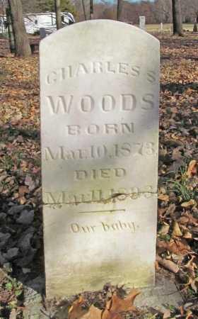WOODS, CHARLES S - Benton County, Arkansas   CHARLES S WOODS - Arkansas Gravestone Photos