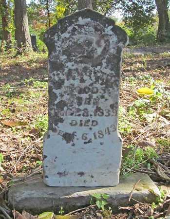 WOODS, ELIZABETH - Benton County, Arkansas | ELIZABETH WOODS - Arkansas Gravestone Photos