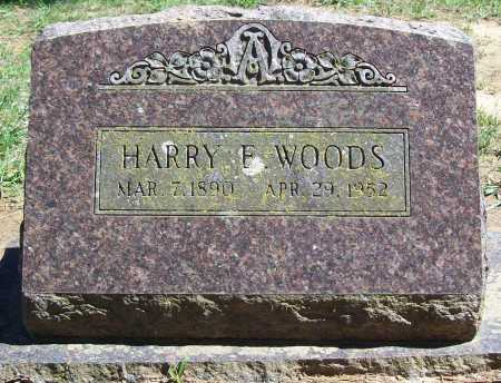 WOODS, HARRY E. - Benton County, Arkansas | HARRY E. WOODS - Arkansas Gravestone Photos