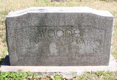 WOODS, MARY - Benton County, Arkansas | MARY WOODS - Arkansas Gravestone Photos