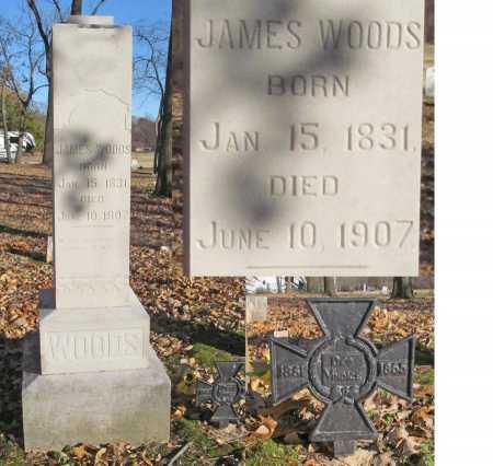 WOODS, JAMES - Benton County, Arkansas | JAMES WOODS - Arkansas Gravestone Photos