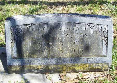 WOODS, LLOYD B. - Benton County, Arkansas | LLOYD B. WOODS - Arkansas Gravestone Photos