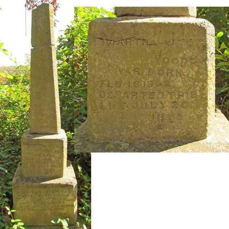 WOODS, MARTHA JANE - Benton County, Arkansas | MARTHA JANE WOODS - Arkansas Gravestone Photos