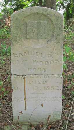 WOODS, SAMUEL PURVIANCE - Benton County, Arkansas | SAMUEL PURVIANCE WOODS - Arkansas Gravestone Photos