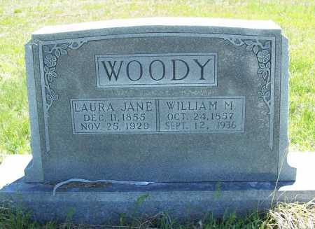 WOODY, LAURA JANE - Benton County, Arkansas | LAURA JANE WOODY - Arkansas Gravestone Photos