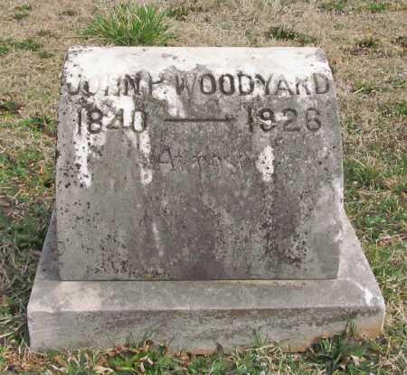 WOODYARD (VETERAN CSA), JOHN PRESLEY - Benton County, Arkansas | JOHN PRESLEY WOODYARD (VETERAN CSA) - Arkansas Gravestone Photos